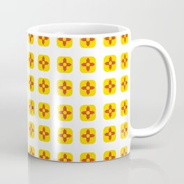 Flag of new mexico -with soft square Coffee Mug