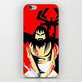 Samurai Jack iPhone Skin