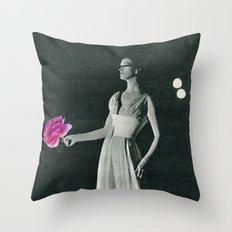 Curtain Down Throw Pillow