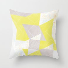 composition_No.4 Throw Pillow
