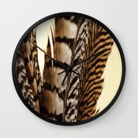 into the wild Wall Clocks featuring Wild by Charlene McCoy