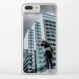 The Watcher Brings a Storm Down on Chicago Clear iPhone Case