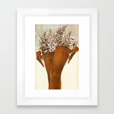 Gladiolous Framed Art Print
