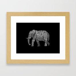 Linephant Framed Art Print