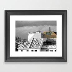 Rooftops of Paris Framed Art Print