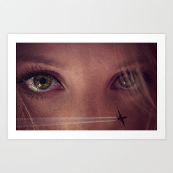 Eye Travel Art Print