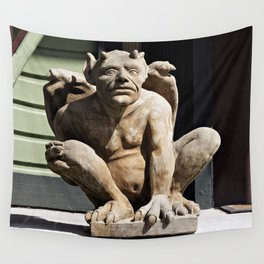 Porch Guardian Wall Tapestry