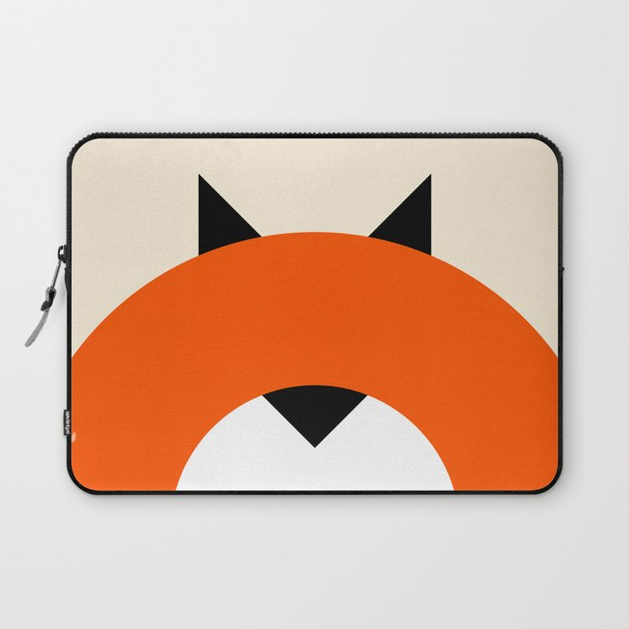 A Most Minimalist Fox Laptop Sleeve