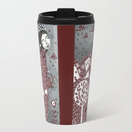 Clouds in July, Raindrop Sky Travel Mug