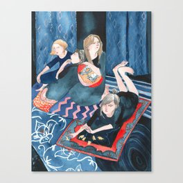 Animal Cracker Lounge Canvas Print