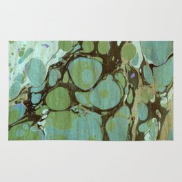 Abstract Painting ; Seaweed Rug