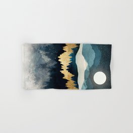 Indigo Night Hand & Bath Towel