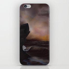 A Stormy Ocean iPhone Skin