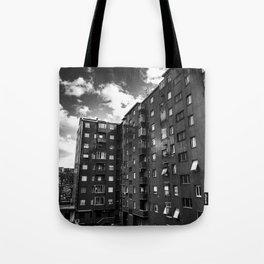 Ugly Buildings Tote Bag