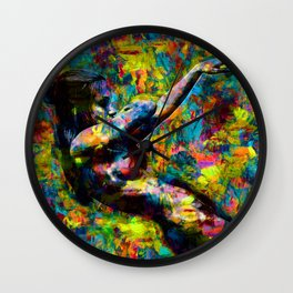 Libby dancing Wall Clock