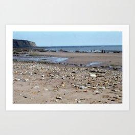 Low Tide East Coast Art Print