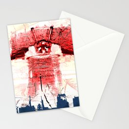 Love in the Bell of Phila Stationery Cards