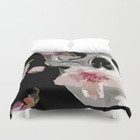 """spring Duvet Covers featuring """"Spring"""" by Miguel Angélus Batista"""