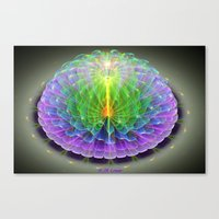 hologram Canvas Prints featuring Hologram by Jim Lowe
