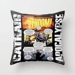 Cathair Apocalypse 01-05 Throw Pillow