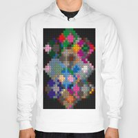 building Hoodies featuring Building Blocks by Fine2art