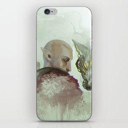 He Walks Alone iPhone Skin