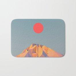 Sun on Mountain Bath Mat