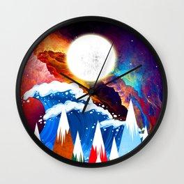 WTF Wave Wall Clock