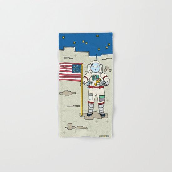 Moon Astronaut 1969 Hand & Bath Towel
