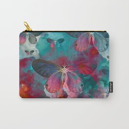 """Spring Butterfly love"" Carry-All Pouch"