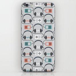 Headphones Pattern iPhone Skin