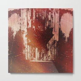 Oh Canada! (Abstract) Metal Print