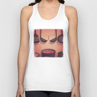boobs Tank Tops featuring Boobs Kitchen by Davide Bonazzi