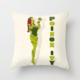 Poison Ivy Throw Pillow