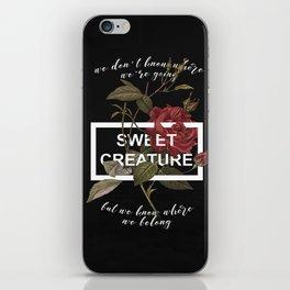 Harry Styles Sweet Creature iPhone Skin