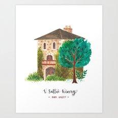 V stattui winery Art Print