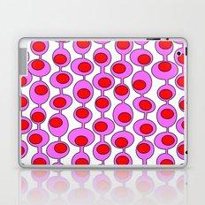 Retro Pattern 1 - White Laptop & iPad Skin