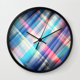 The Curtain of Space Wall Clock