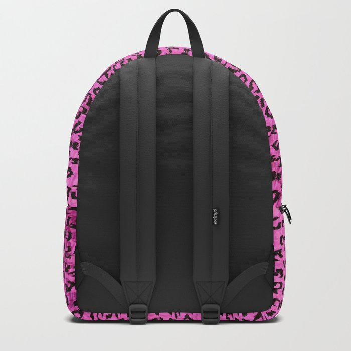 Pink Leopard Spots Backpack