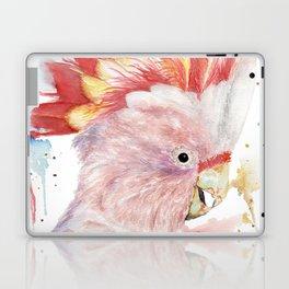 "Watercolor Painting of Picture ""Inca Cockatoo"" Laptop & iPad Skin"