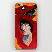 predator iPhone & iPod Skins featuring Predator by Taylor Crockett