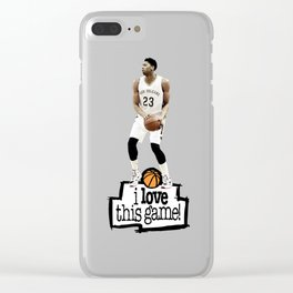 Anthony Davis Clear iPhone Case