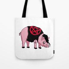 Sad Pig Tote Bag