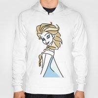 frozen elsa Hoodies featuring Elsa (Frozen) by Maira Artwork