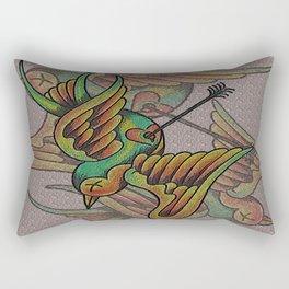 When I Love Rectangular Pillow