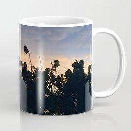 Black Lace at Sunset Coffee Mug