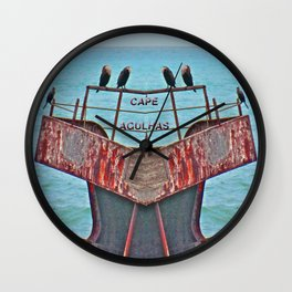 Cormorants Rest Wall Clock