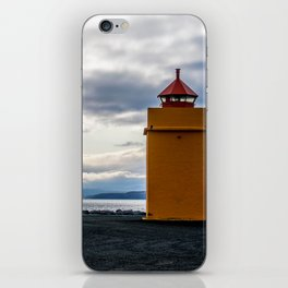 Lighthouse at the Point iPhone Skin