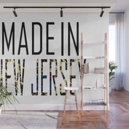 Made In New Jersey Wall Mural
