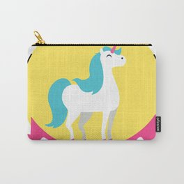 Be you. Unicorn Carry-All Pouch